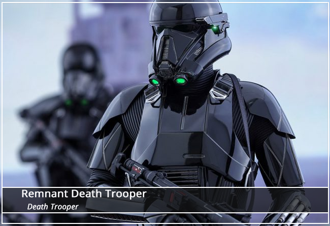 This image has an empty alt attribute; its file name is DeathTrooper-Name-Plate.png