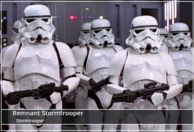 This image has an empty alt attribute; its file name is Stormtrooper-Name-Plate.png