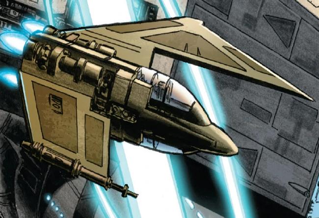 Davaab-Type Starfighter